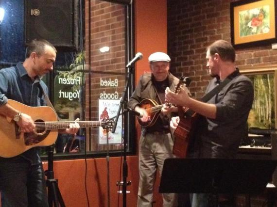Charlie Dentel @Mentobe Cafe with Bill O'Connor and Bobby Pennock 2